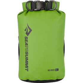 Sea to Summit Big River Dry Bag Set, Large apple green